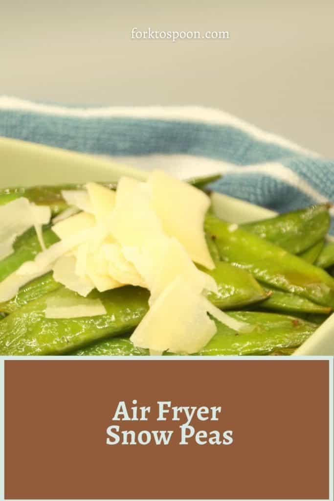 Air Fryer Snow Peas