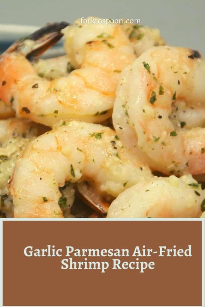 Garlic Parmesan Air-Fried Shrimp Recipe