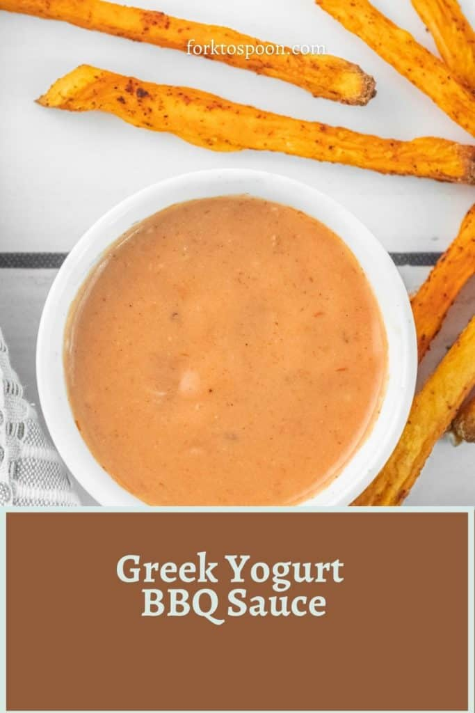 Greek Yogurt BBQ Sauce
