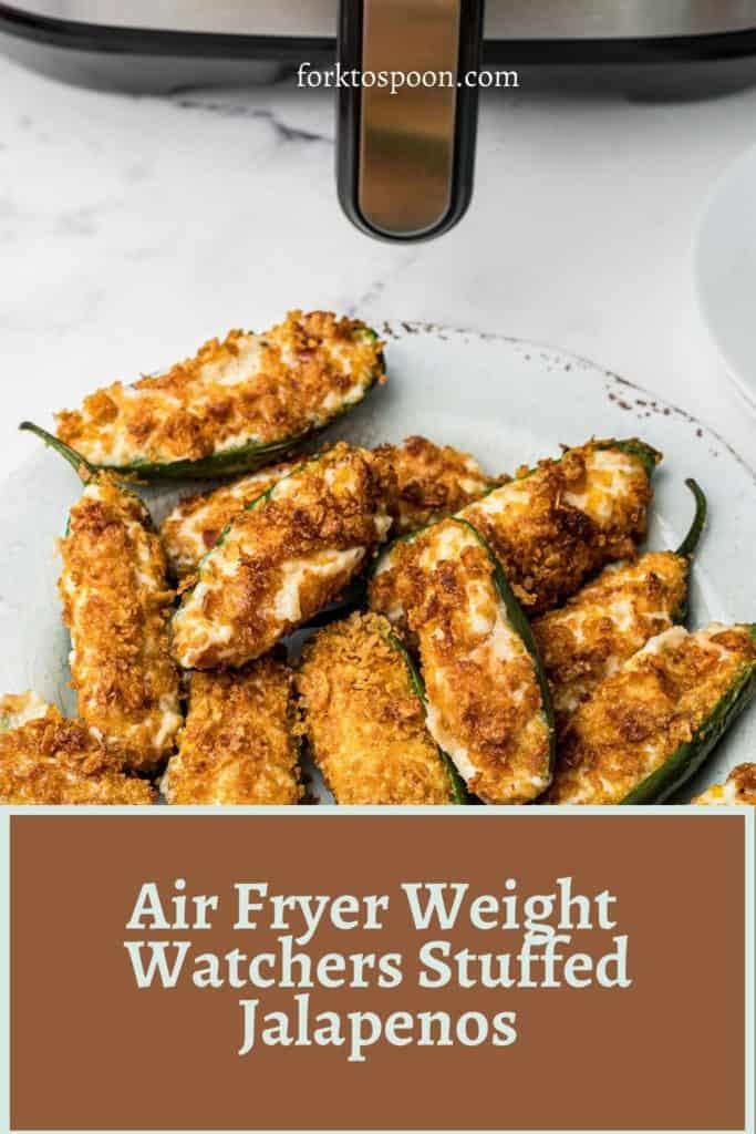 Air Fryer Weight Watchers Stuffed Jalapenos