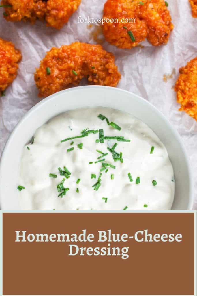 Homemade Blue-Cheese Dressing