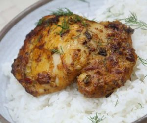 Air Fryer Pollo Asado Chicken