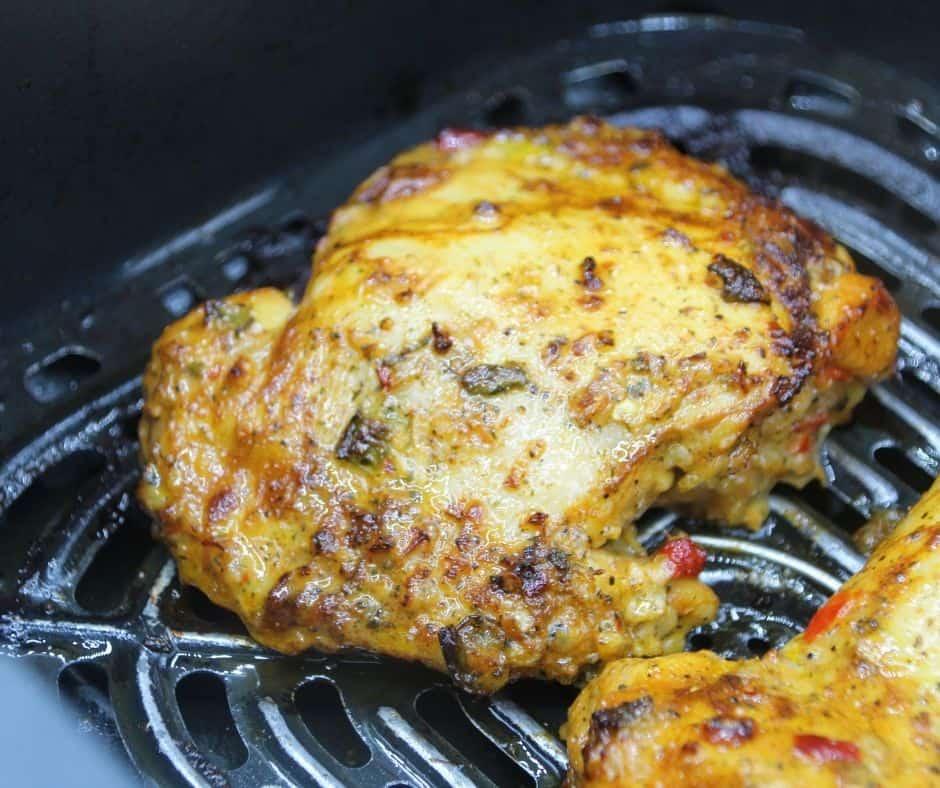 Pollo Chicken in Air Fryer Basket