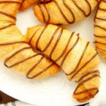 Air Fryer Chocolate Croissants