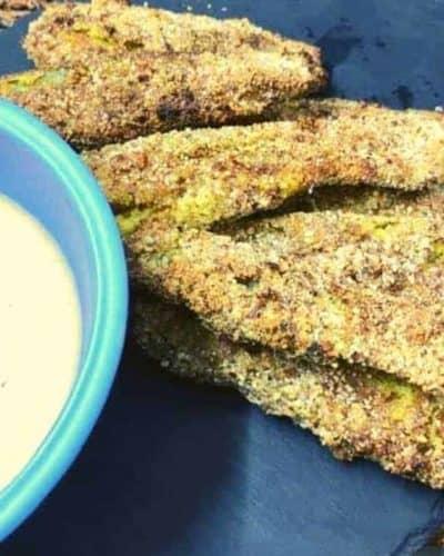 KETO Air Fryer Pickles