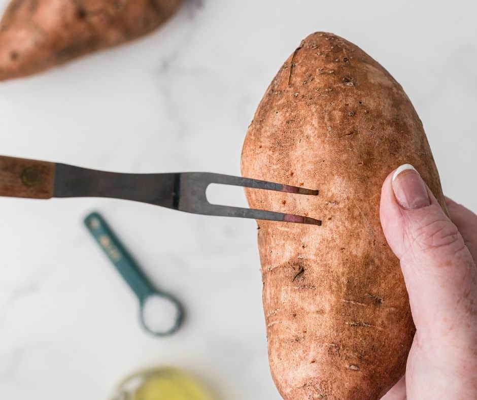 Poke Your Sweet potato