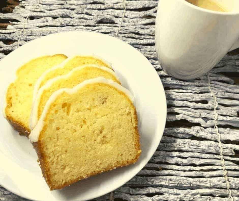 Air Fryer Lemon Loaf