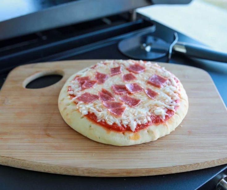 Blackstone Pepperoni Pizza