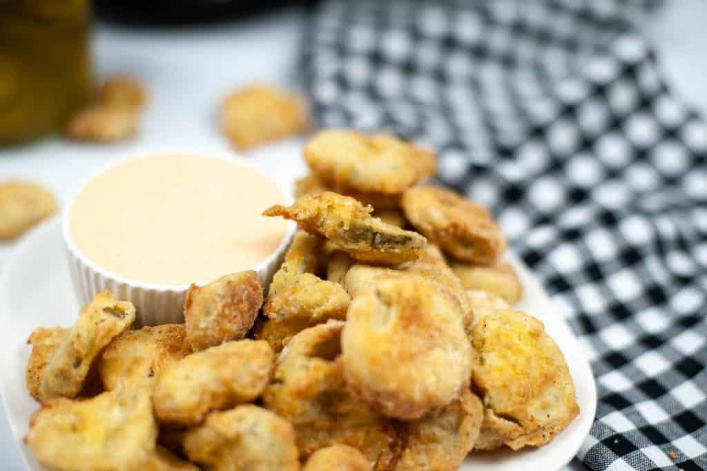 Air Fryer Cajun Fried Pickles