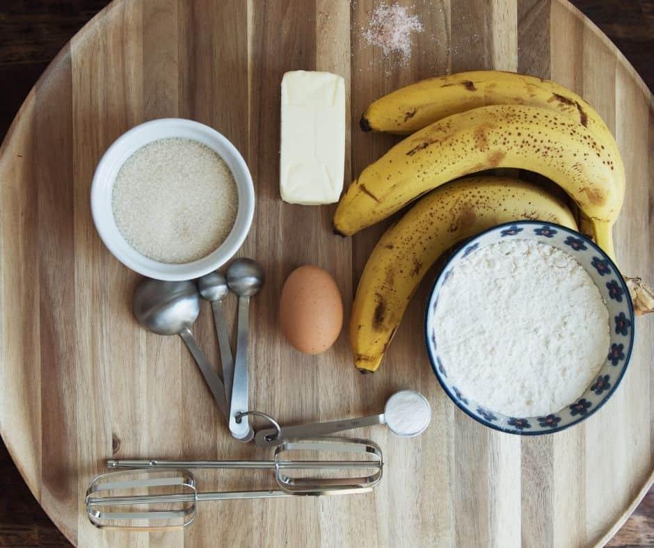 Ingredients Needed In Air Fryer Banana Nut Bread