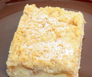 Air Fryer Apple Streusel Quick Bread