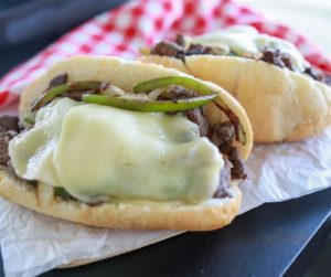 Blackstone Griddle Philly Cheesesteak