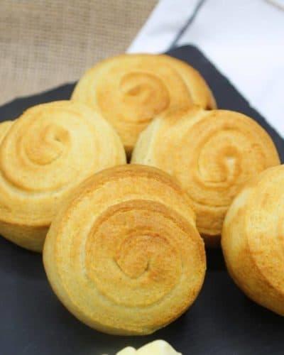Air Fryer Pillsbury Cornbread Swirls