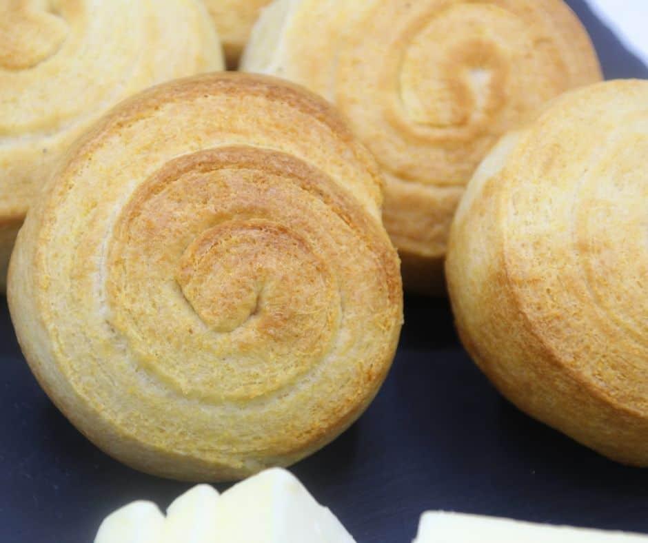 Air Fryer Cornbread Biscuits