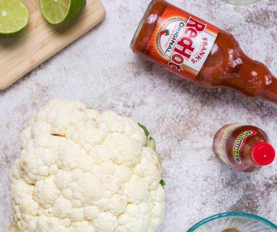Ingredients Needed For Air Fryer Buffalo Cauliflower