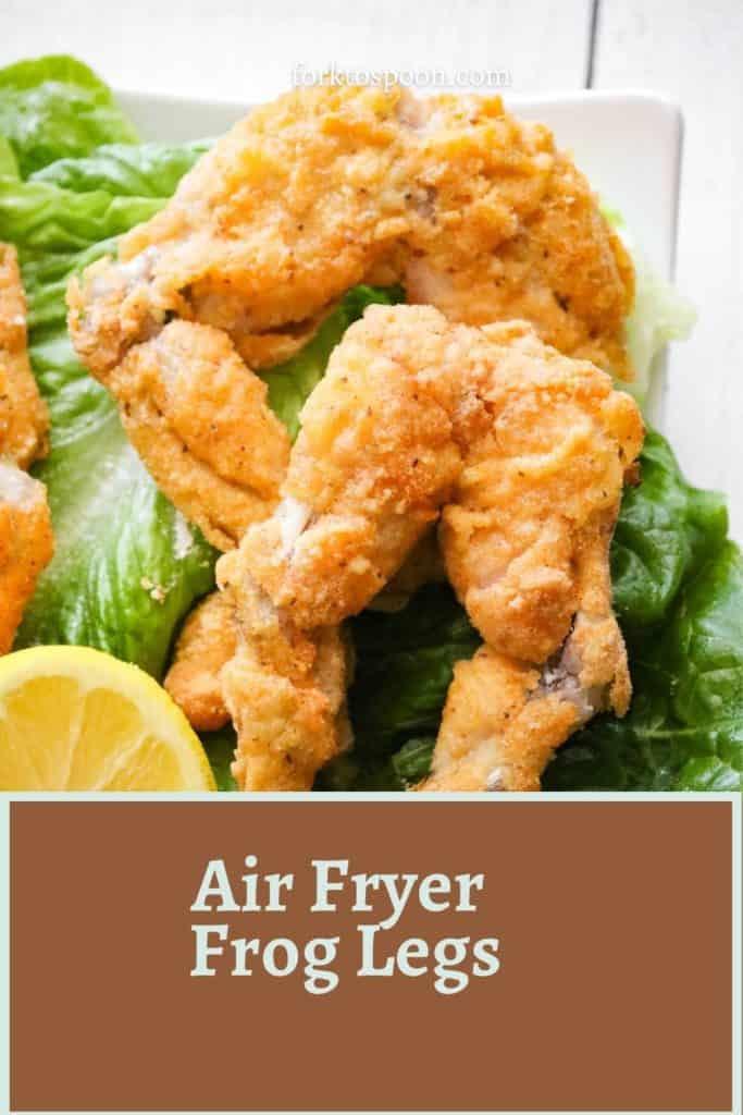 Air Fryer Frog Legs