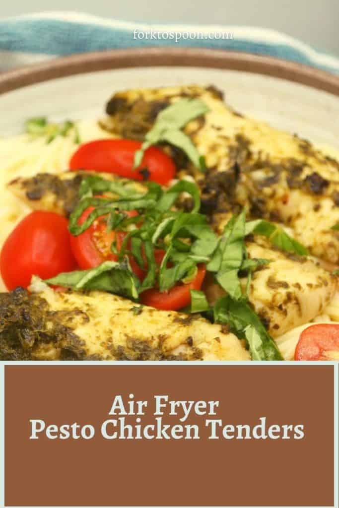Air Fryer Pesto Chicken Tenders