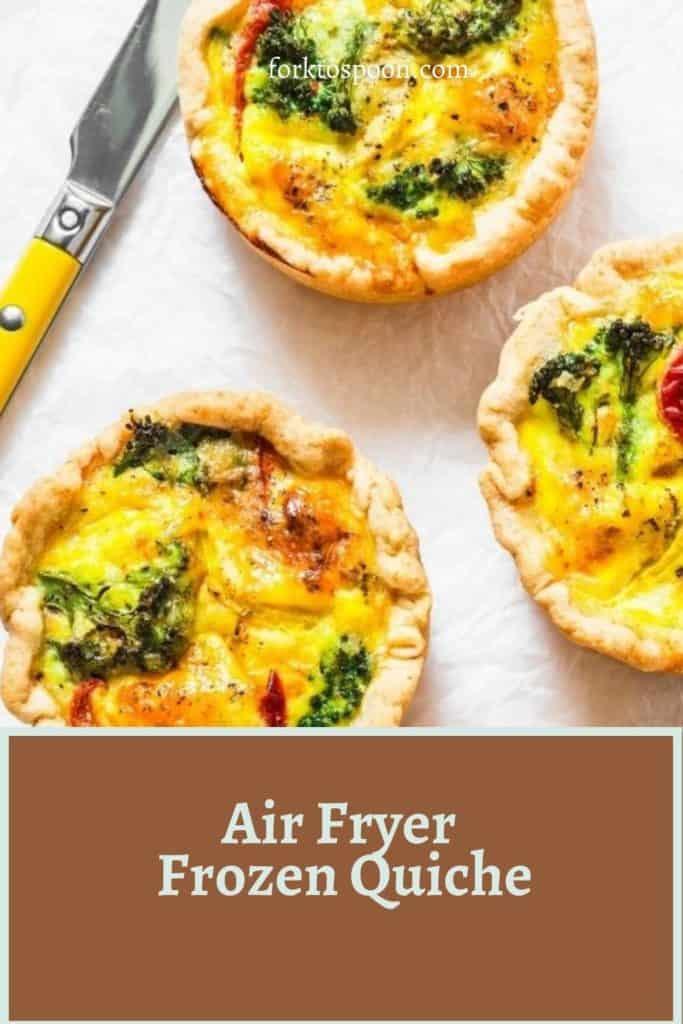 Air Fryer Frozen Quiche