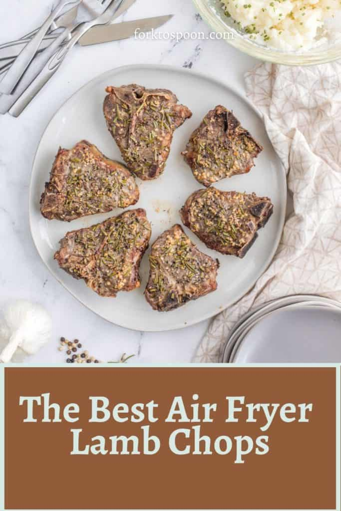 The Best Air Fryer Lamb Chops