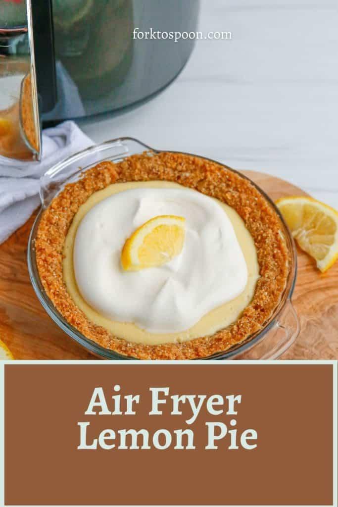 Air Fryer Lemon Pie