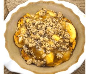Air Fryer Cinnamon Roll Dutch Apple Pie