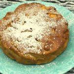 Air Fryer 4 Ingredient Apple Cake