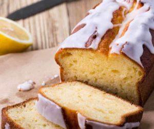 Air Fryer Copycat Starbucks Lemon Pound Loaf Cake