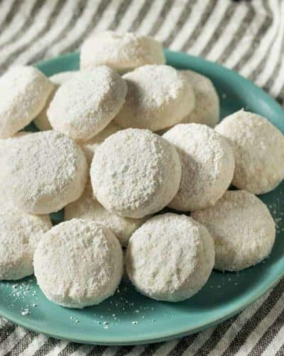 Air Fryer Mexican Wedding Cookies