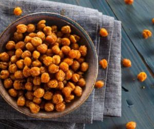 Air Fryer Za'atar Spiced Chickpeas