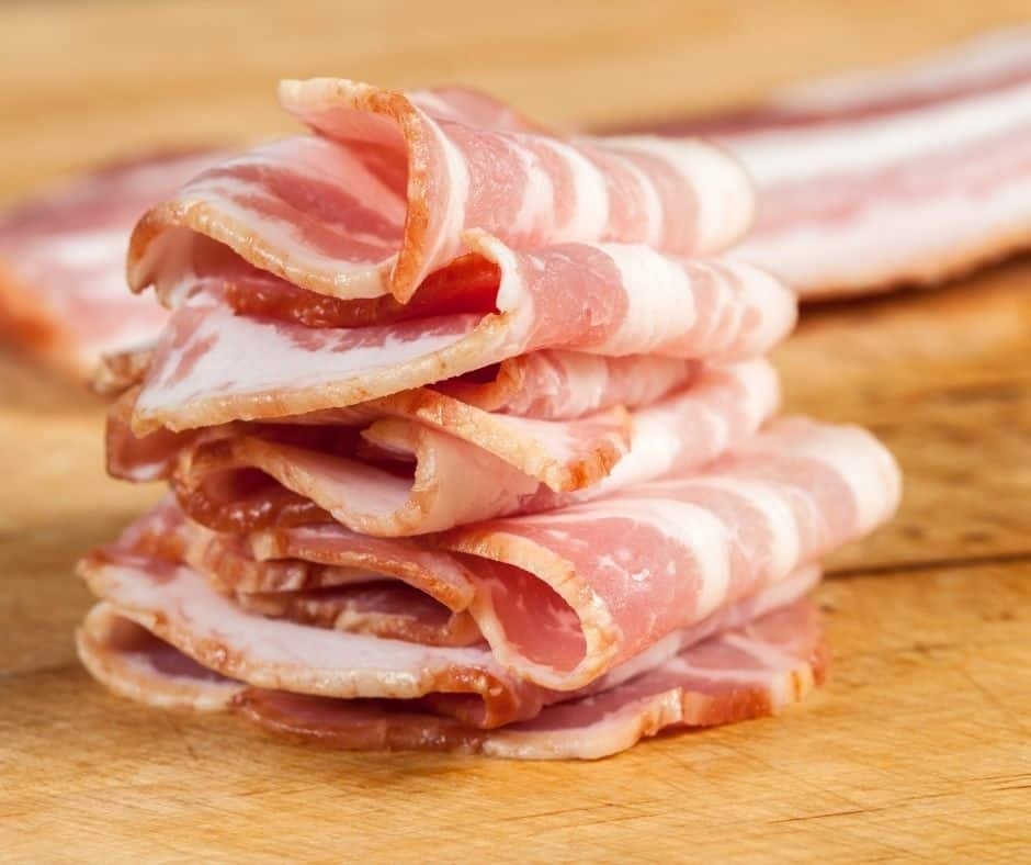 Bacon for Bacon Cups Air Fryer