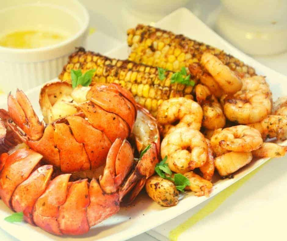 Air Fryer Seafood Boil