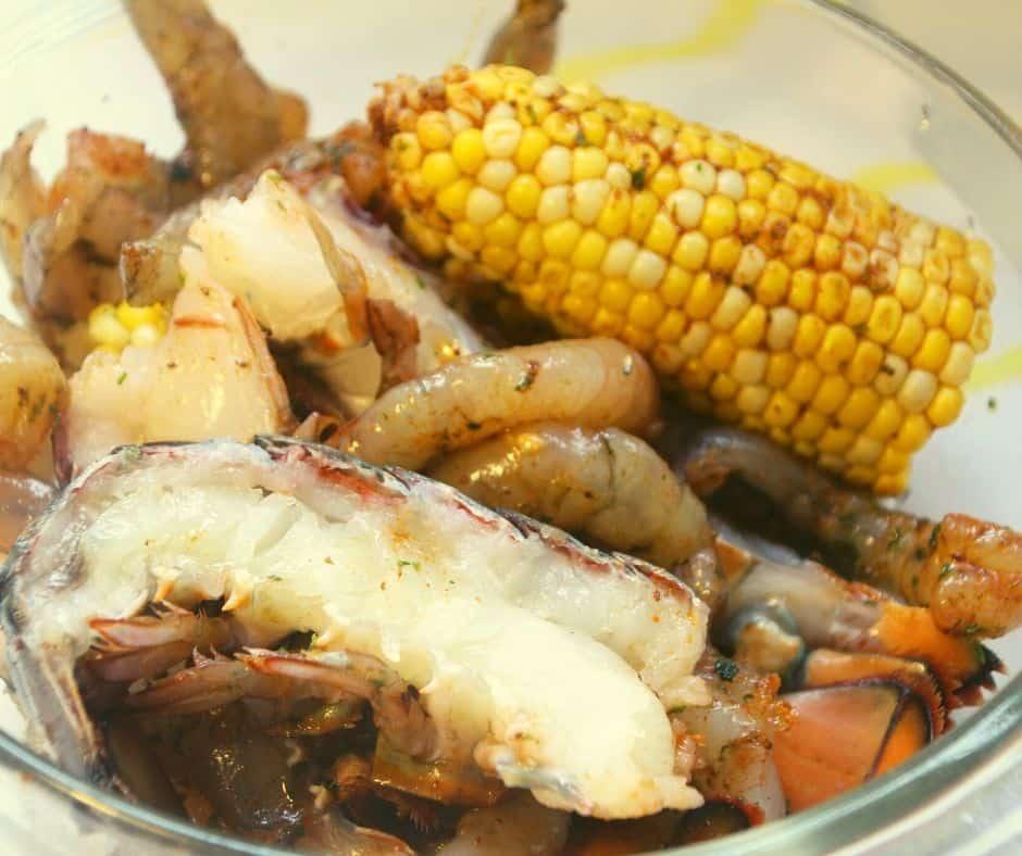 Ingredients For Seafood Boil Air Fryer