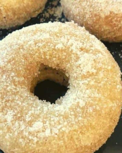Air Fryer Banana Donuts