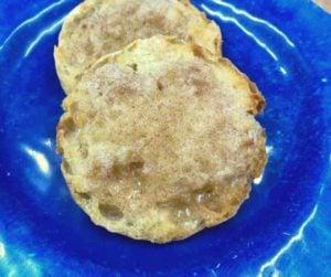 Air Fryer Cinnamon Sugar English Muffins