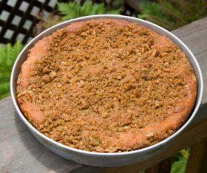 Air Fryer Homemade Coffee Cake