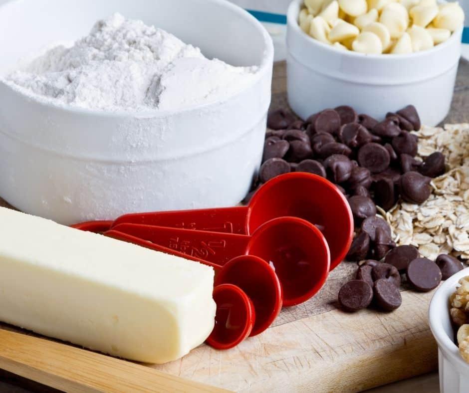 Ingredients Needed For Air Fryer Chocolate Chip Cookies