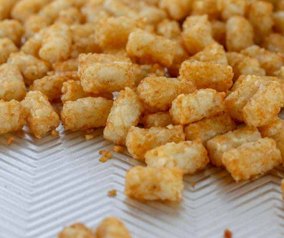 Ingredients Needed For Air Fryer Loaded Tater Tots