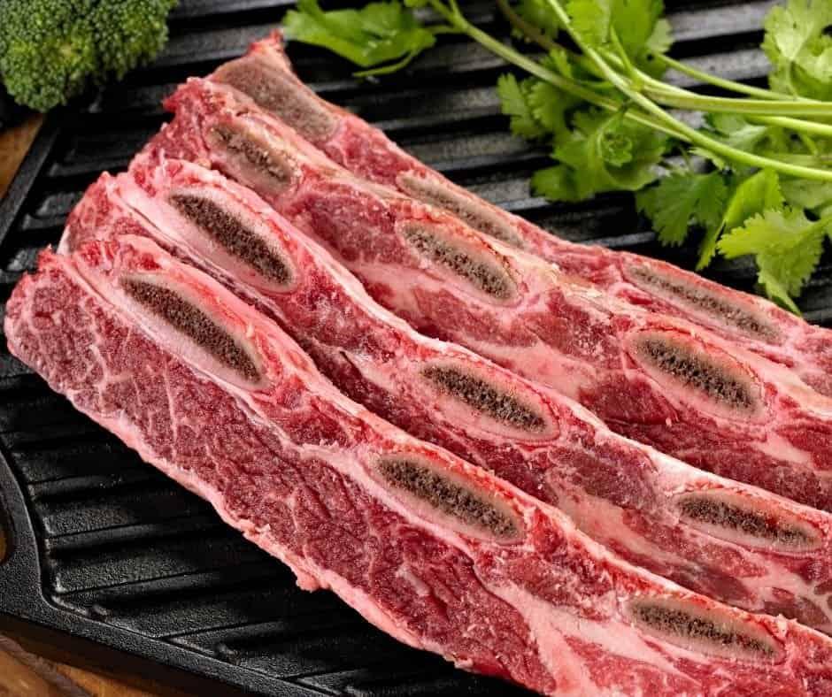 Ingredients For Instant Pot Korean Beef Short Ribs