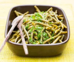 Air Fryer Canned Green Beans
