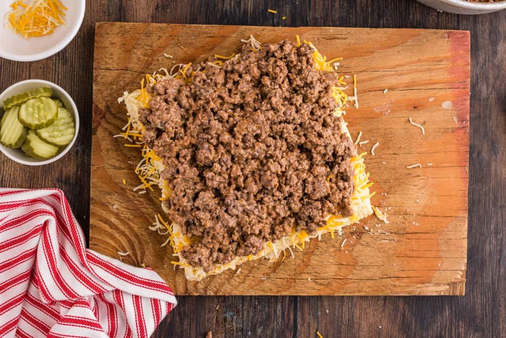 Cheeseburger Sliders Meat