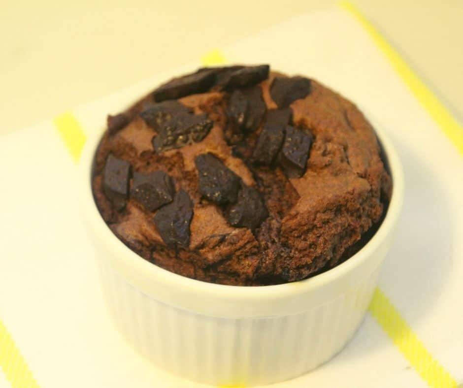 Air Fryer Chocolate Cake Mix Mug Cake
