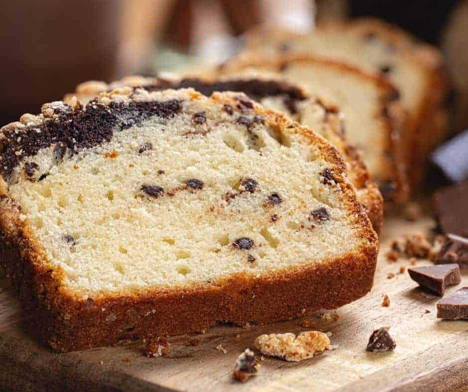 Air Fryer Chocolate Swirl Quick Bread