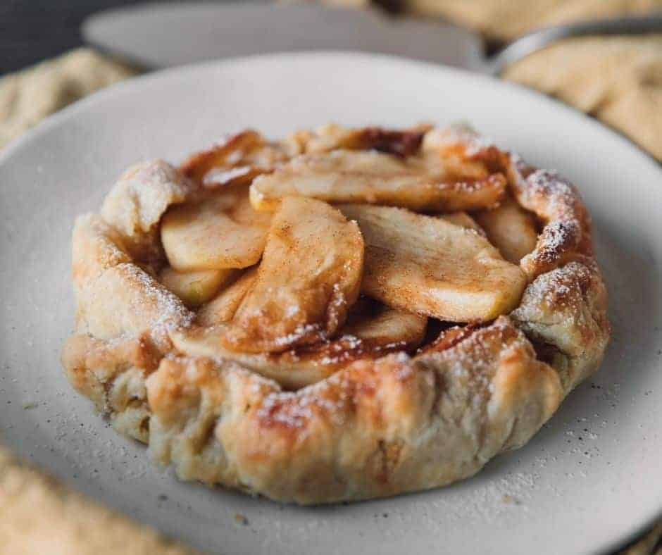 Air Fryer Country Apple Galette