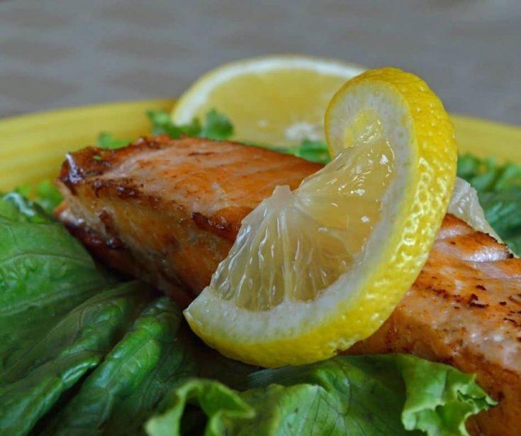 Instant Pot Lemon Salmon