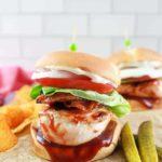 Air Fryer BBQ Chicken Sandwich