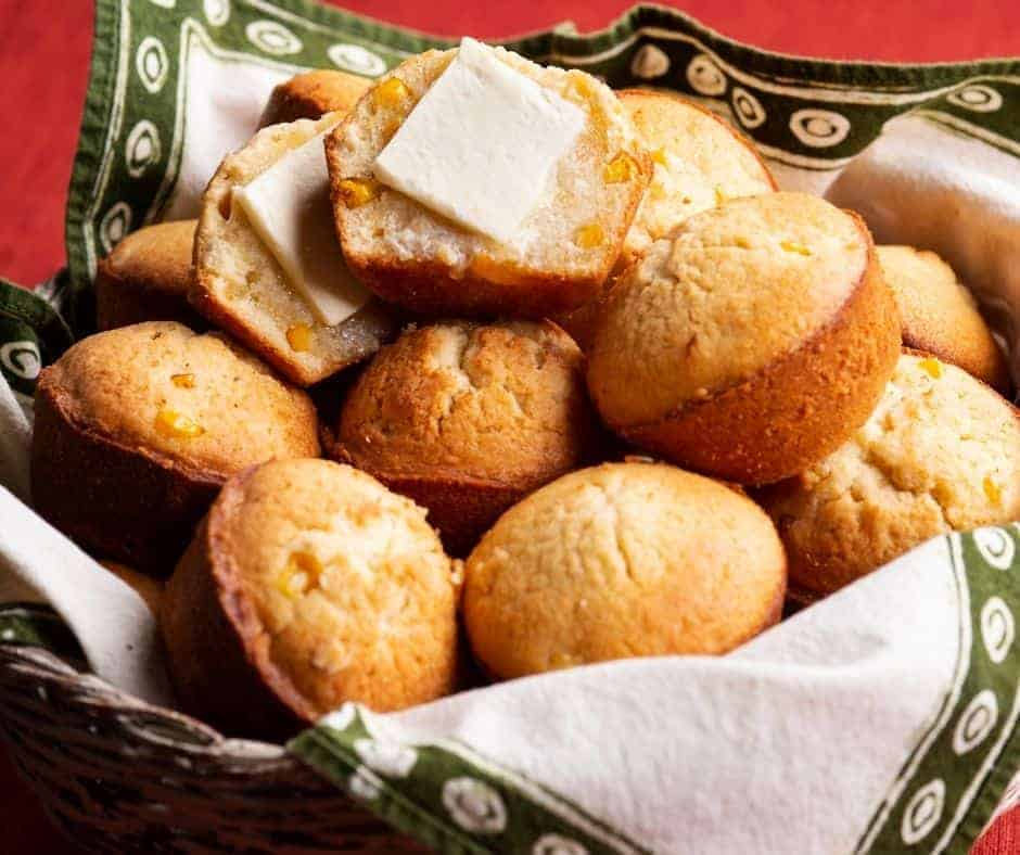 Air Fryer Easy Corn Muffins