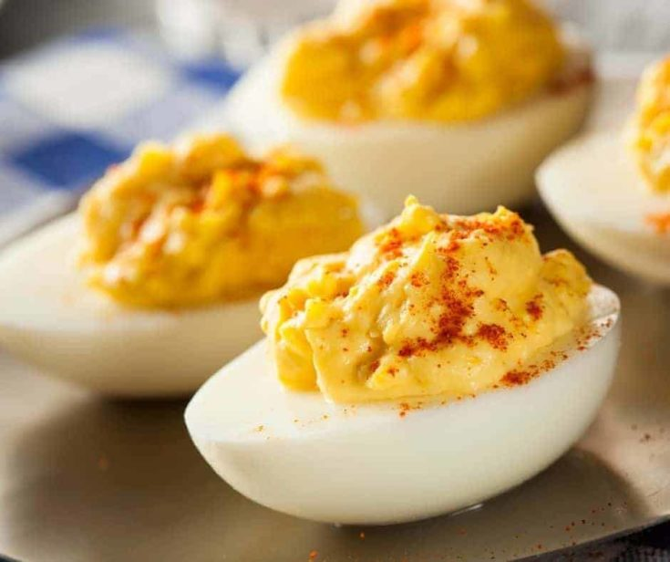 Air Fryer Deviled Eggs