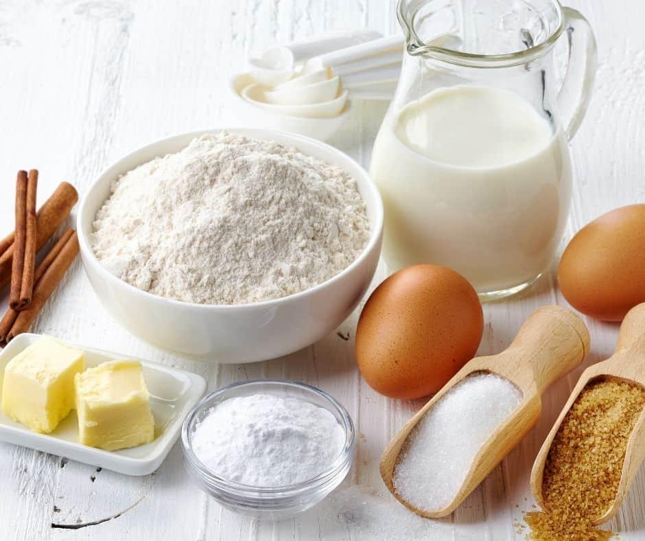 Ingredients Needed For Air Fryer Cinnamon Roll Cake