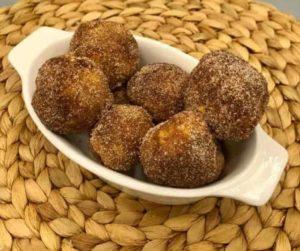 Air Fryer Cinnamon Sugar Doughnut Bites
