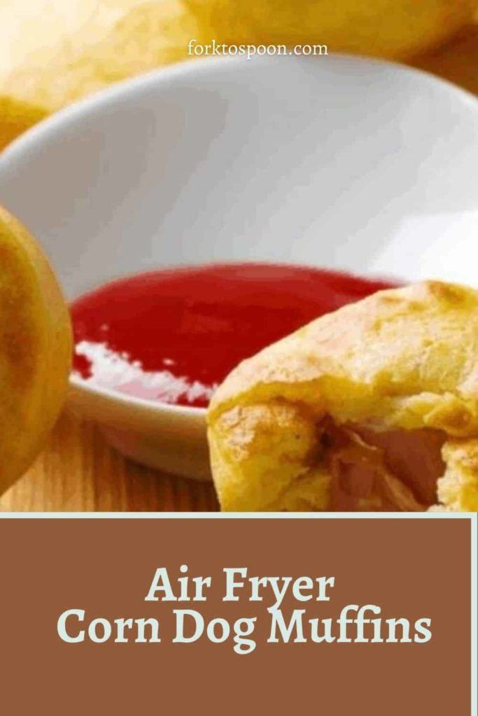 Air Fryer Corn Dog Muffins